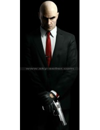 Agent 47 Hitman Black Suit