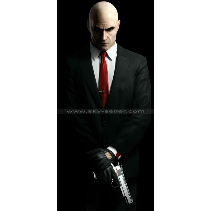 Agent 47 Hitman Black Suit
