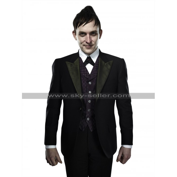Gotham Robin Lord Taylor (Penguin) 3 Piece Black Tuxedo Suit