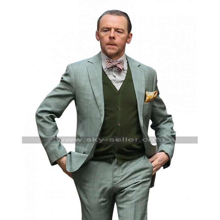 Mission Impossible 6 Fallout Benji Dunn (Simon Pegg) Tuxedo Suit