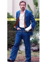 Ryan Gosling The Nice Guys Mid Blue Suit