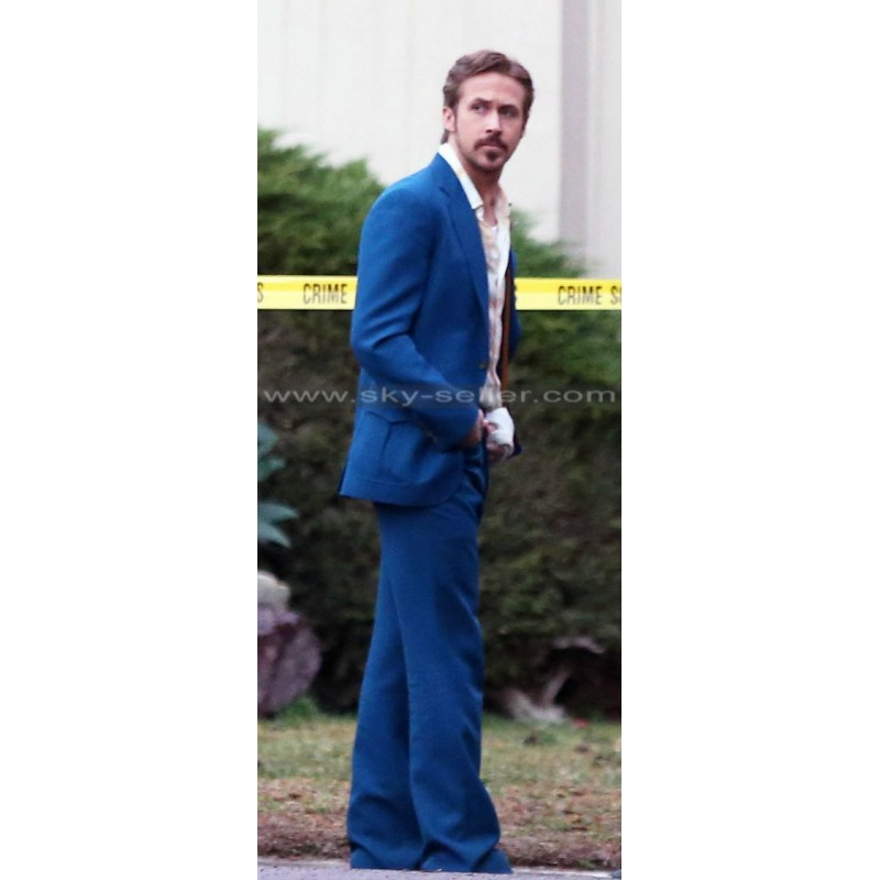 Gosling The Nice Guys Mid Blue Suit