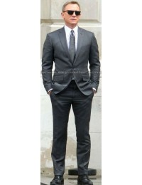 Spectre Daniel Craig Grey Suit