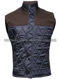 Alex Roe The 5th Wave Evan Walker Quilted Vest