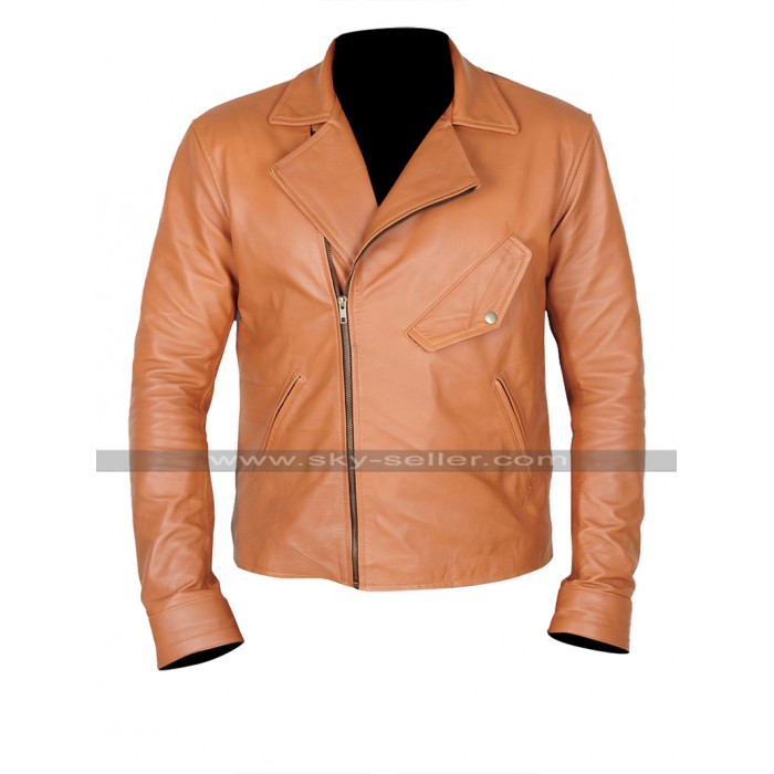 Beautiful Creatures Ethan Wate (Alden Ehrenreich) Brown Leather Jacket