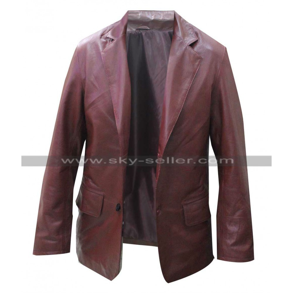 Billy Seven Psychopaths Sam Rockwell Red Blazer Jacket