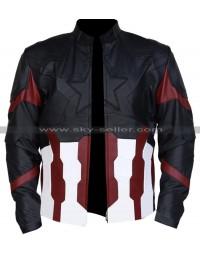 Captain America Avengers Infinity War Chris Evans Costume Jacket
