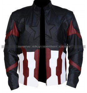 Captain America Avengers Infinity War Chris Evans Costume Jacket