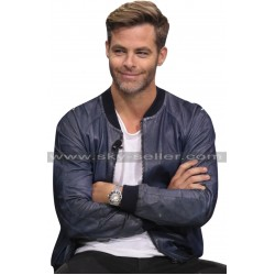 Chris Pine Star Trek Beyond Bomber Jacket