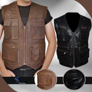 Chris Pratt Jurassic World Owen Grady Biker Vest