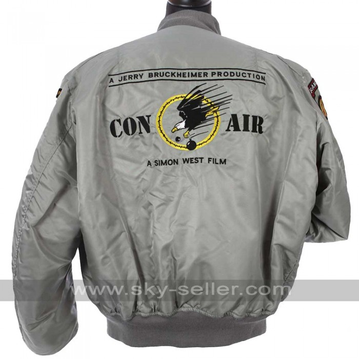 Con Air Film Crew 96 Silver Jacket