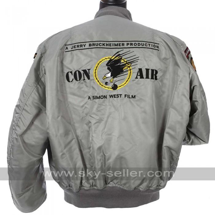 Con Air Film Crew 96 Silver Jacket