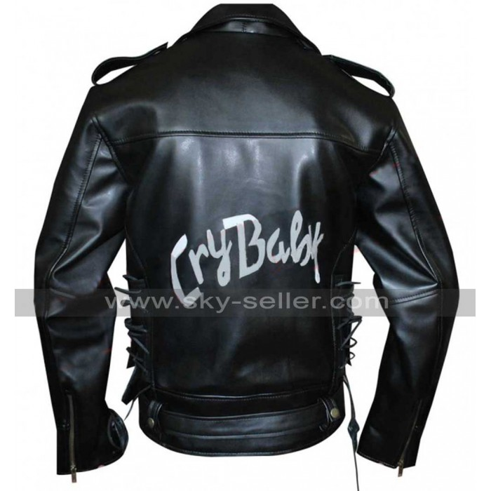 Cry Baby Johnny Depp (Wade Walker) Biker Jacket