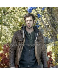 Ethan Peck The Curse of Sleeping Beauty Brown Jacket