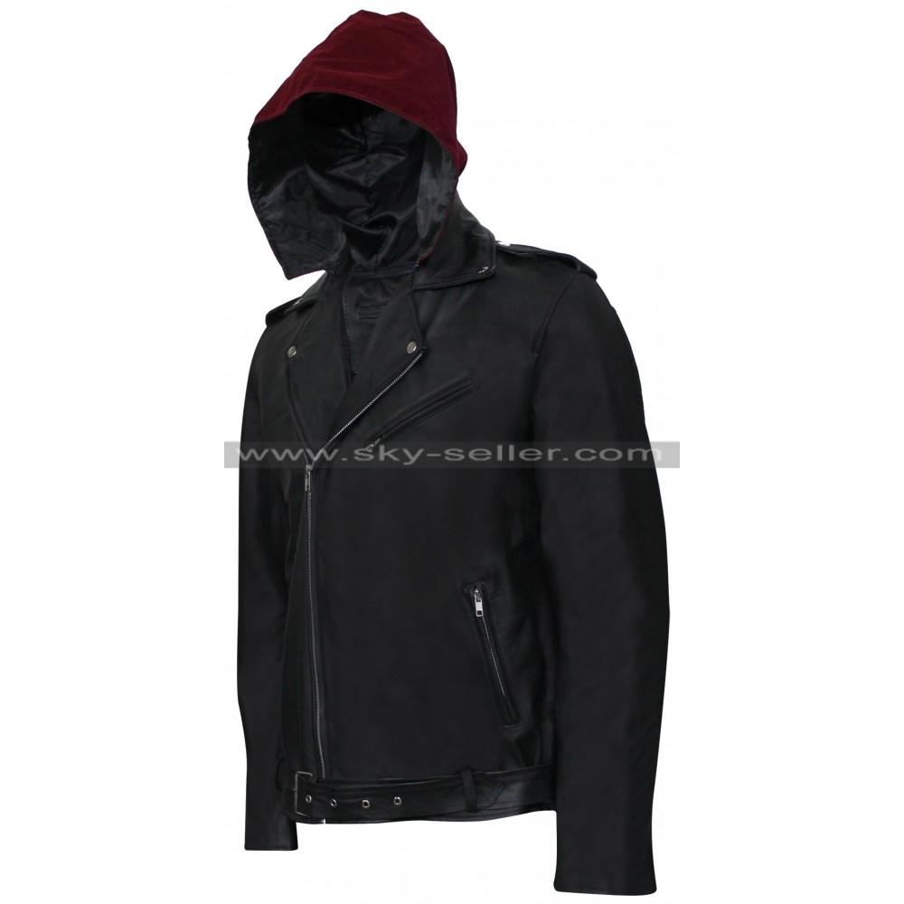 Metallica leather jacket
