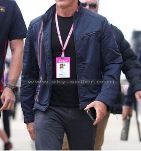 No Time To Die Blue Daniel Craig Jacket