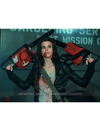 Dead Rising Watchtower Meghan Ory (Crystal) Black Jacket