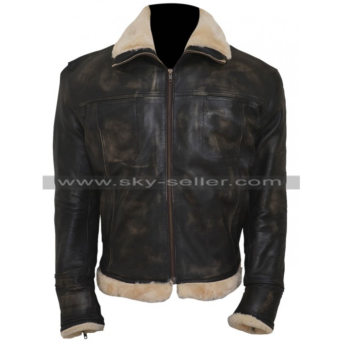 Vin Diesel xXx Xander Cage Distressed Black Fur Jacket