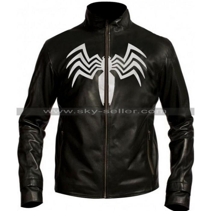 Spider Man 3 Eddie Brock Venom Black Jacket