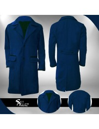 Fantastic Beasts Newt Scamander Blue Wool Coat