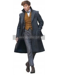 Fantastic Beasts The Crimes of Grindelwald Eddie Redmayne Wool Coat