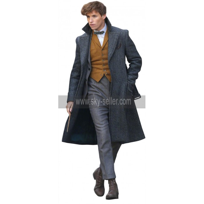 Fantastic Beasts The Crimes of Grindelwald Newt Eddie Redmayne Wool Coat