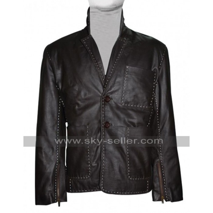 Fast and Furious 7 Jason Statham (Ian Shaw) Leather Jacket