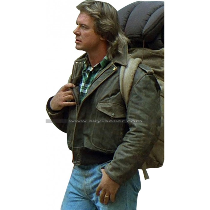 They Live Roddy Piper (George Nada) Brown Bomber Leather Jacket