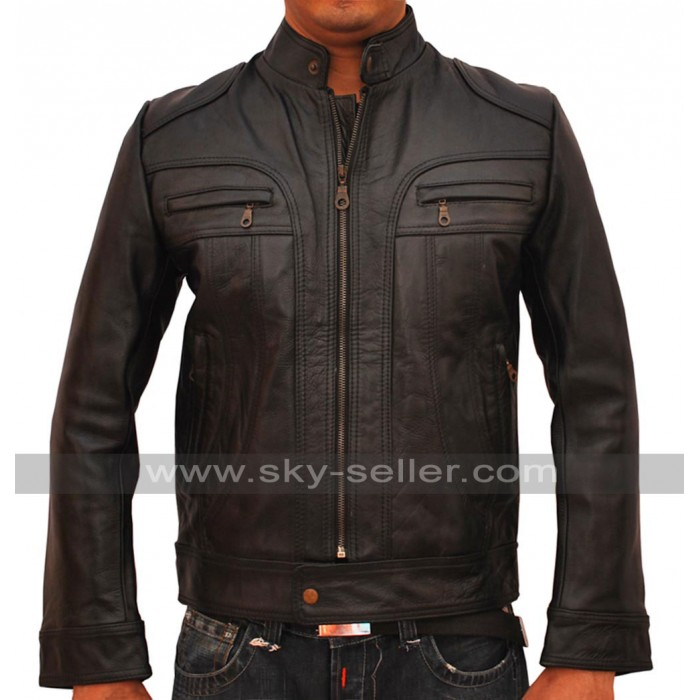 Ghosts of Girlfriends Past Matthew Mcconaughey Black Leather Jacket