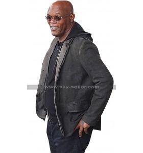 Samuel L Jackson The Hitmans Bodyguard Darius Kincaid Black Jacket