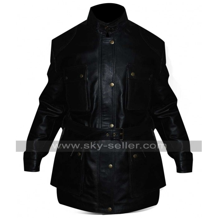 Will Smith I am Legend Robert Neville Black Jacket
