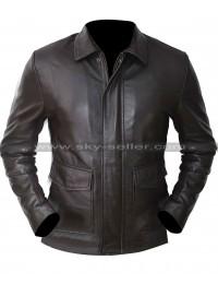 Indiana Jones and Kindom of Crystal Skull Harrison Ford Brown Leather Jacket