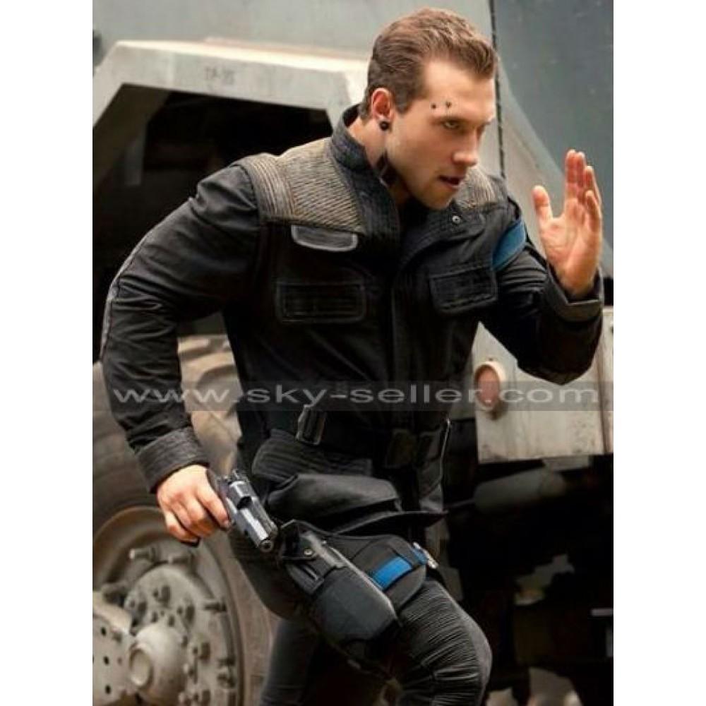 Insurgent Jai Courtney (Eric) Costume Black Jacket
