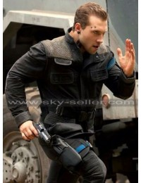 Insurgent Jai Courtney (Eric) Costume Black Jacket