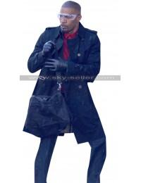 Jamie Foxx Baby Driver Bats Black Coat