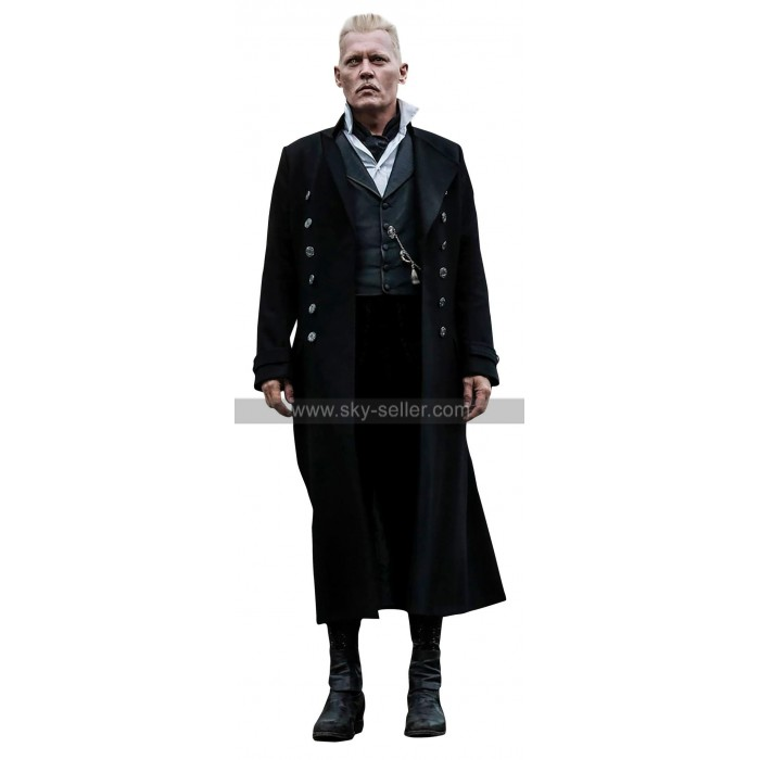 Gellert Fantastic Beasts The Crimes Of Grindelwald Johnny Depp Coat