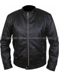 Limitless Bradley Cooper Black Leather Jacket
