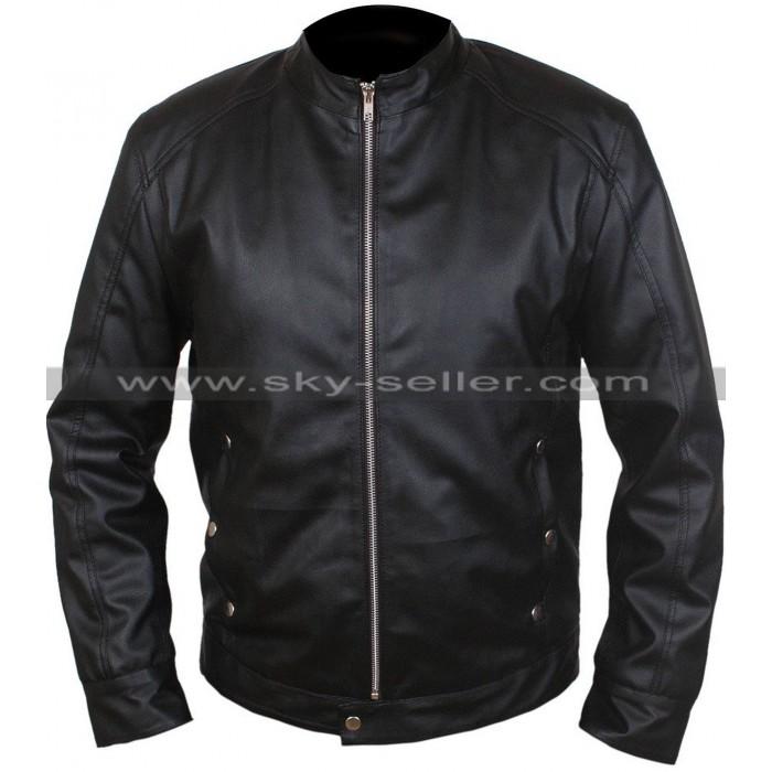 Limitless Bradley Cooper Black Leather Jacket