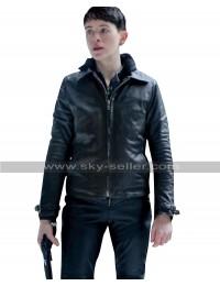 The Girl in the Spiders Web Lisbeth Salander Black Biker Leather Jacket
