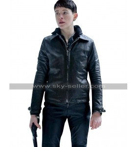The Girl in the Spiders Web Lisbeth Salander Black Biker Leather Jacket