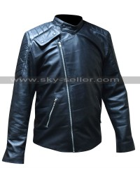 Pike Buffy the Vampire Slayer Black Leather Jacket