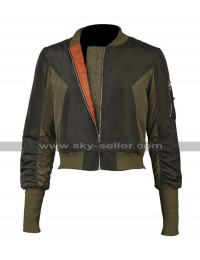 Ghost In The Shell Scarlett Johansson (Major Motoko Kusanagi) Bomber Parachute Jacket