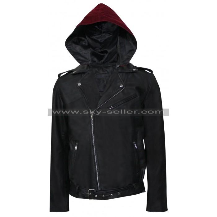 Metallica Through the Never Dane Dehaan (Trip) Leather Jacket