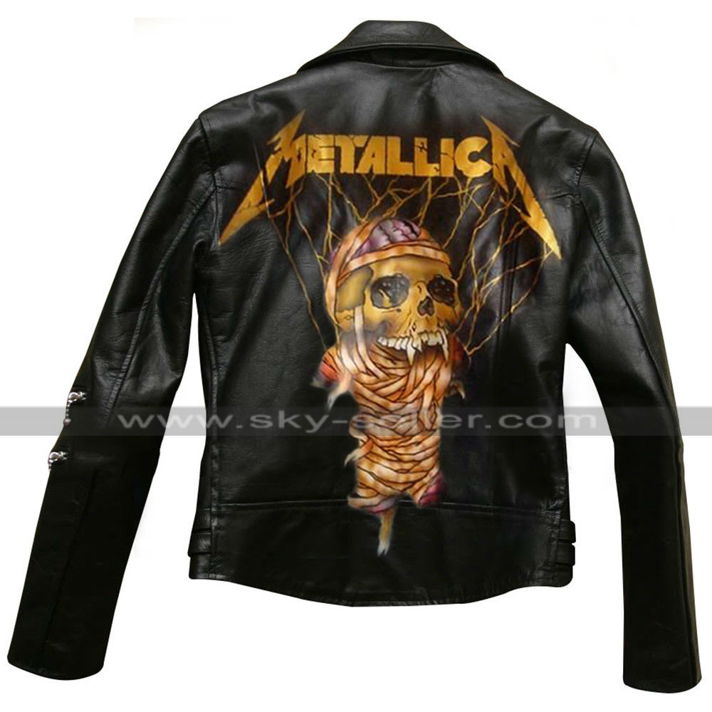 Metallica Through the Never Dane Dehaan (Trip) Leather Jacket