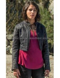 Kimberly Hart Power Rangers Black Leather Jacket