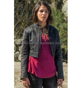 Kimberly Hart Power Rangers Black Leather Jacket