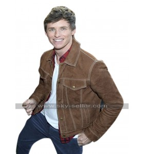 Newt Scamander Fantastic Beasts Crimes Grindelwald Eddie Redmayne Leather Jacket