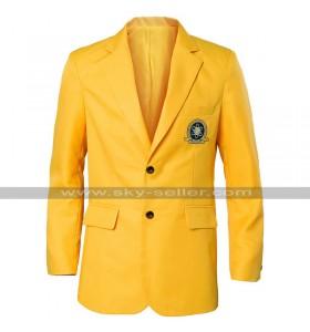 Tom Holland Spiderman Homecoming Uniform Yellow Coat
