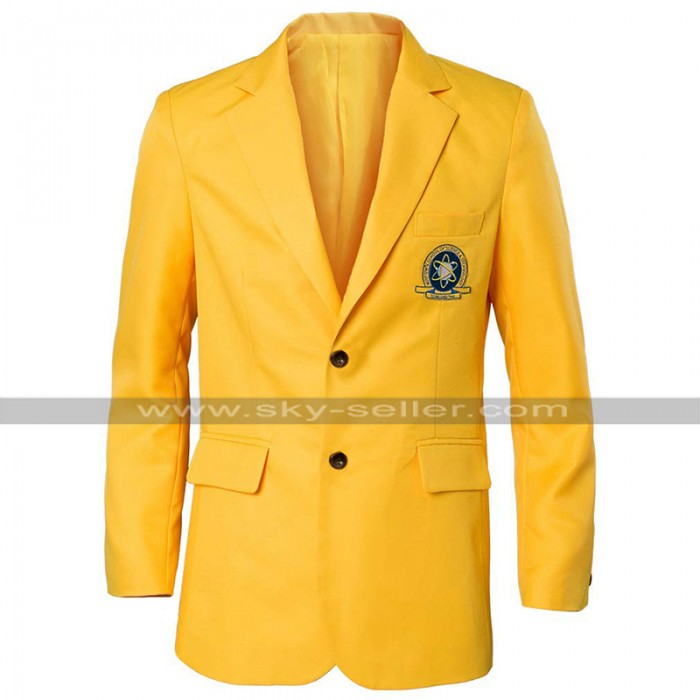 Tom Holland Spiderman Homecoming Uniform Yellow Coat