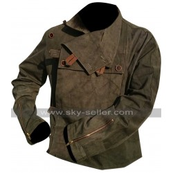 Prometheus Captain Janek (Idris Elba) Leather Jacket